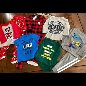Baby Boy 18 Month Clothes Lot- Various Brands, New
